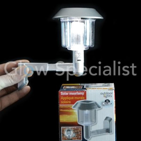 Solar wall lamp - 12.5 cm
