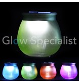 Solar light colored glass