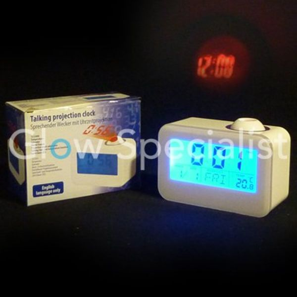 Talking Projection Alarm Clock