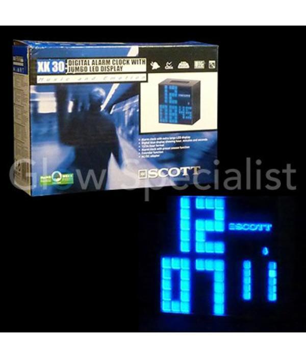 Alarm clock with jumbo LED display
