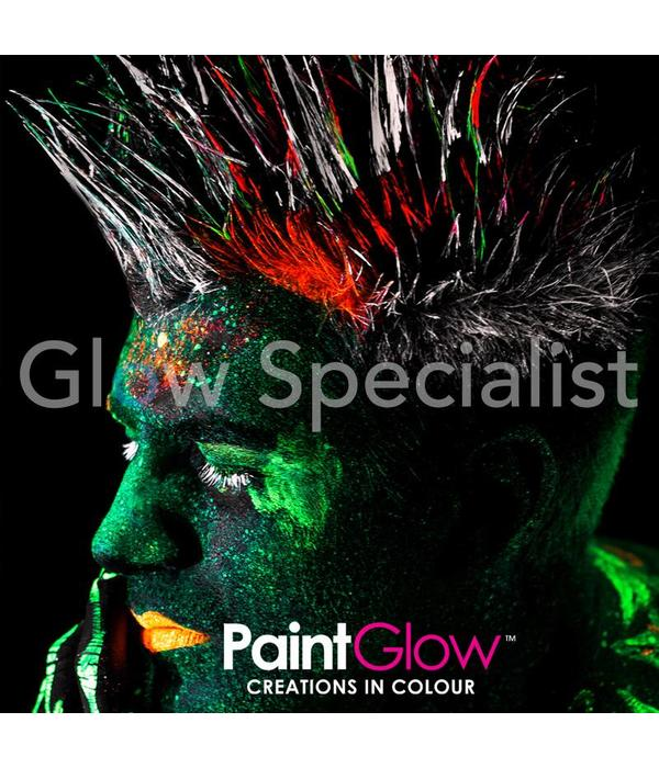 - PaintGlow PAINTGLOW BLACKLIGHT HAARGEL - SET VAN 6 TUBES
