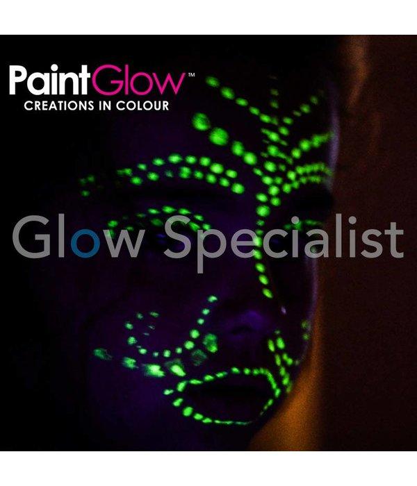 - PaintGlow GLOW IN THE DARK FACE & BODY PAINT - SET VAN 7