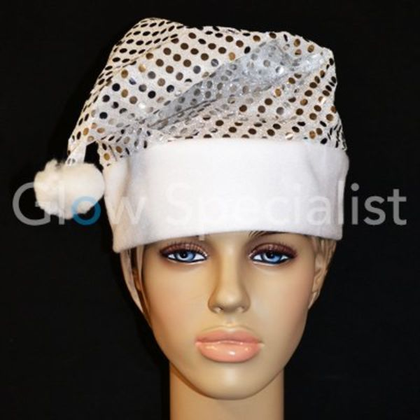 GLAMOUR Santa hat with sequins