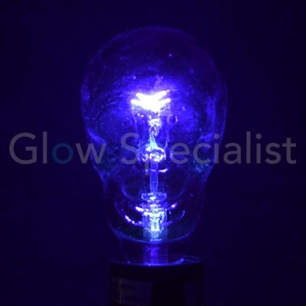 UV / BLACKLIGHT SKULL LAMP
