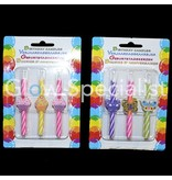 Birthday Candles with theme - 12 pieces