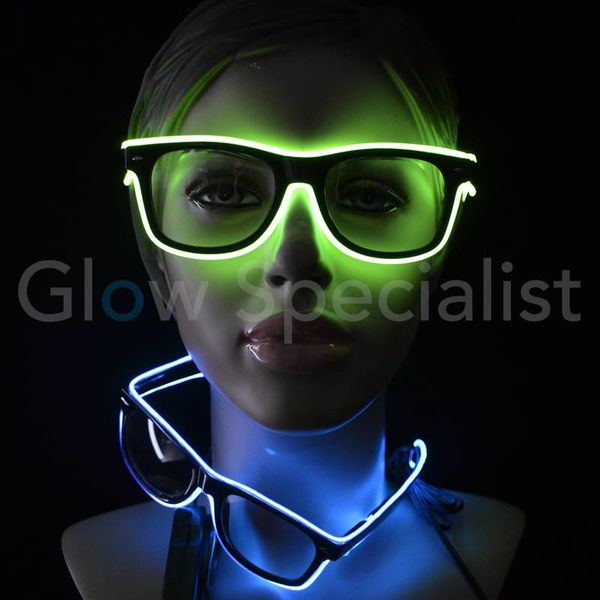 LED EL-WIRE GLASSES