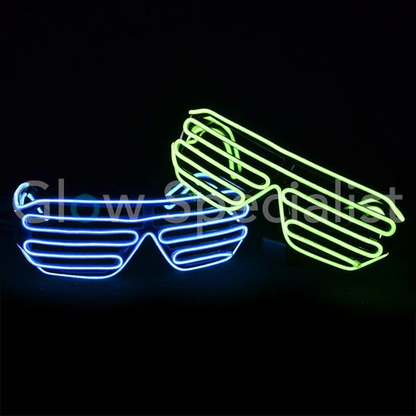 EL-WIRE LED SHUTTER GLASSES
