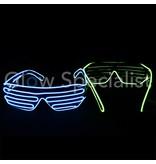 EL-WIRE LED SHUTTER GLASSES
