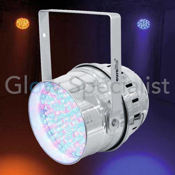 EUROLITE LED PAR-64 10 RGBA SPOT ALU 10 MM
