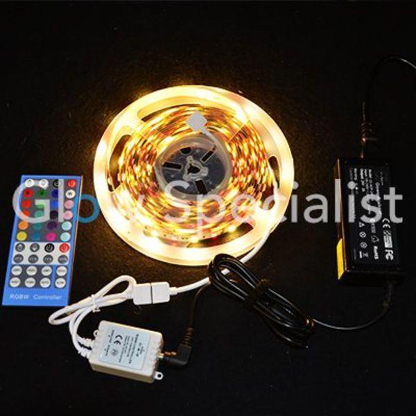 LED STRIP RGB-W - 24V - 5 METRES