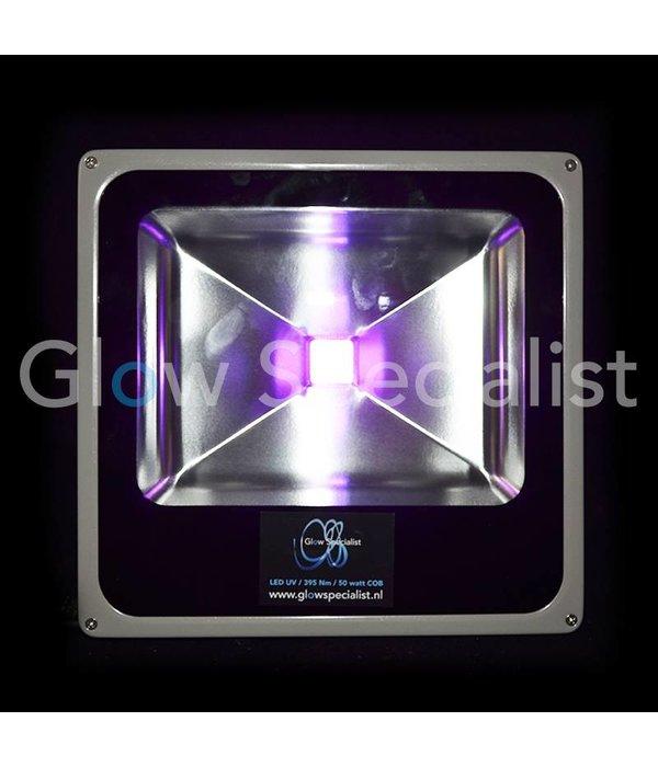- Glow Specialist UV 395nm LED 50 WATT COB FLOOD LIGHT - GLOW SPECIALIST