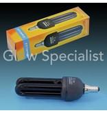 - Omnilux UV / BLACKLIGHT SPAARLAMP E14 - 11 WATT