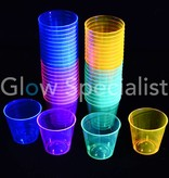 Party Essentials NEON SHOT GLASS - ASSORTED - 50 PCS - 30 ML