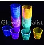 Party Essentials NEON SHOT GLASS - ASSORTED - 50 PCS - 30 ML