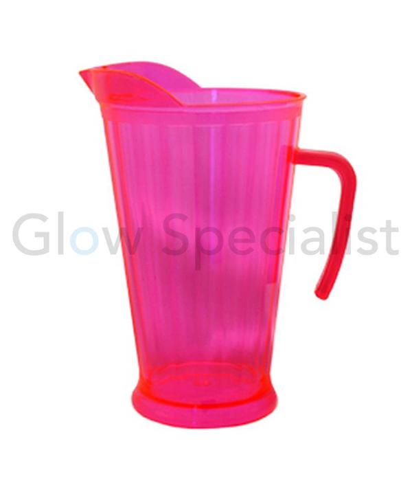 Party Essentials NEON PITCHER - RED/PINK - 1.75 L