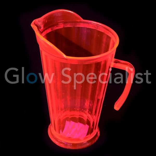 NEON PITCHER - RED/PINK - 1.75 L