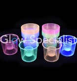 Party Essentials NEON BOMBER CUPS - ASSORTED - 25 PIECES