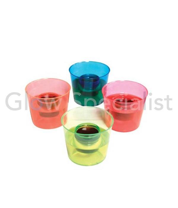 Party Essentials NEON BOMBER CUPS - ASSORTI - 20 STUKS