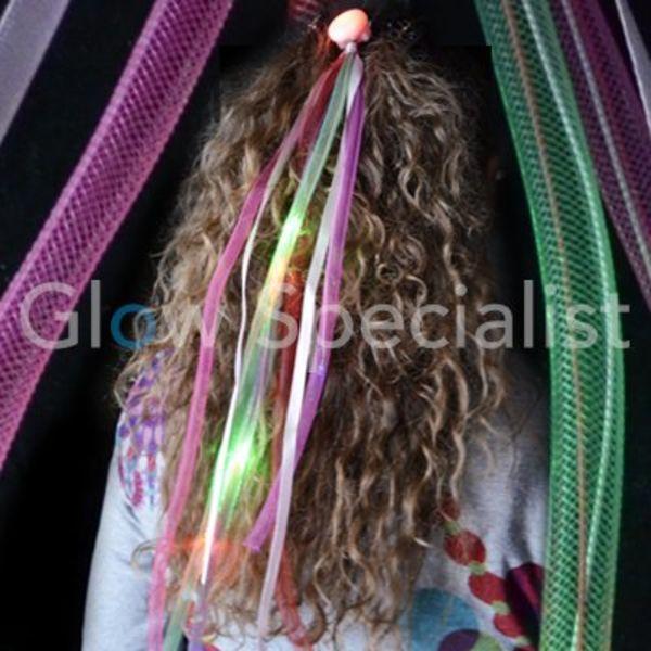 LED FLASHING HAIR PIN