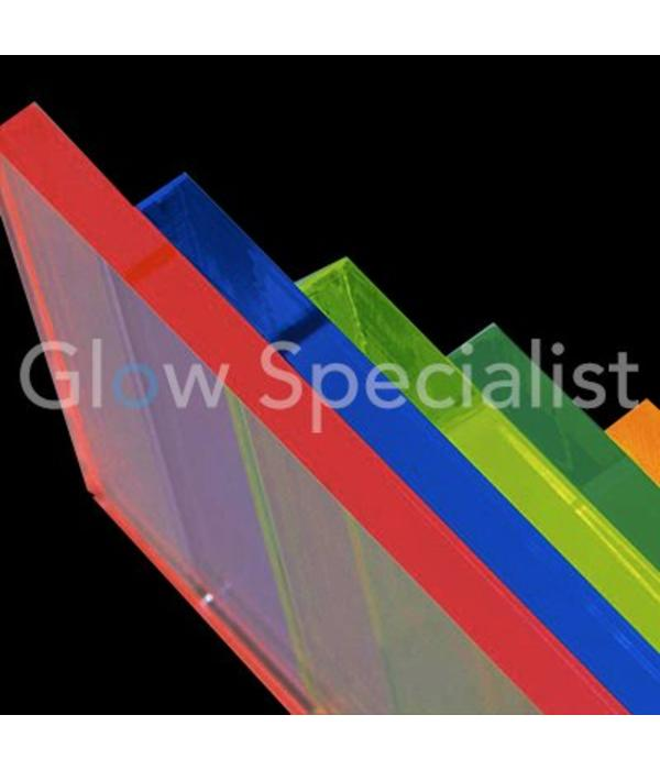 UV / BLACKLIGHT NEON ACRYLIC SHEET - 67 x 50 CM