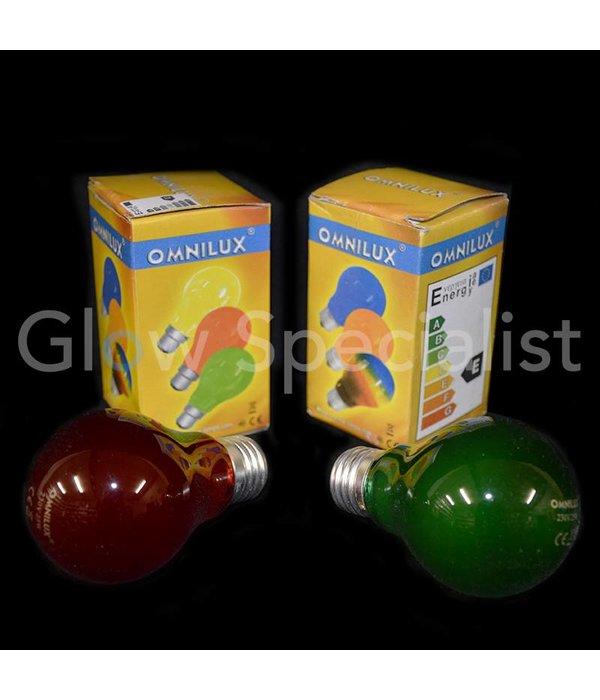 - Omnilux OMNILUX LAMP 25W E-27 - GREEN / RED