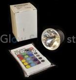 LED COLOR CHANGING LIGHT GU5.3 - 12V - 3W