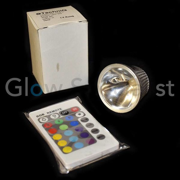 LED COLORCHANGING LAMP GU5.3 - 12V - 3W