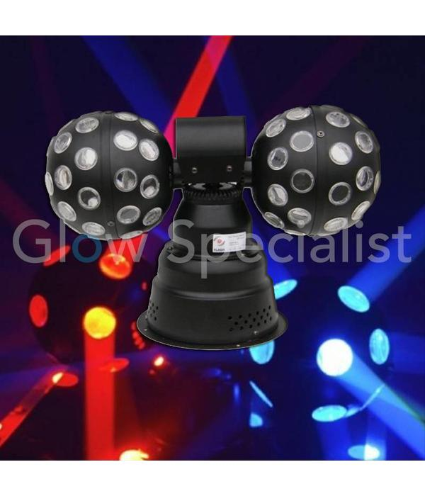 LED DOUBLE FIREBALL LIGHTING EFFECT