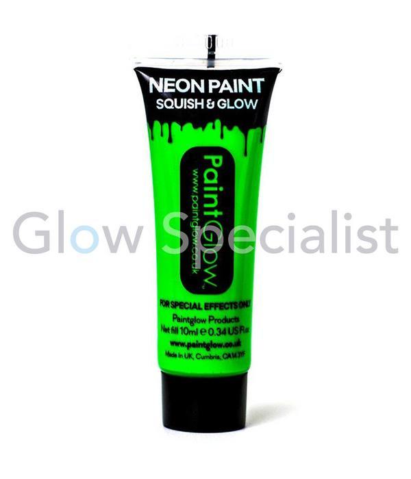 PAINTGLOW UV FACE & BODY PAINT - SET OF 6 TUBES
