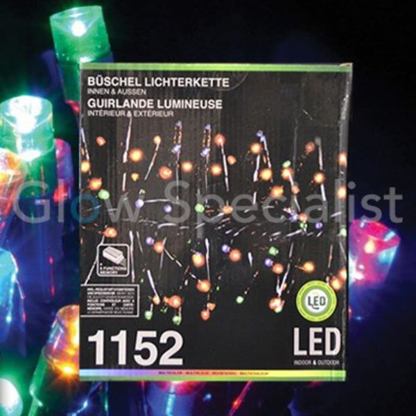LED CLUSTERVERLICHTING - 1152 LAMPJES - MULTICOLOR
