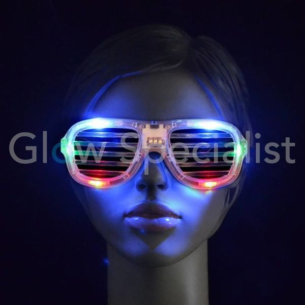 LED Shutter Eye glasses