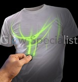 Illuminated Apparel INTERACTIEF GLOW IN THE DARK T-SHIRT