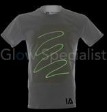Illuminated Apparel INTERACTIVE GLOW IN THE DARK T-SHIRT