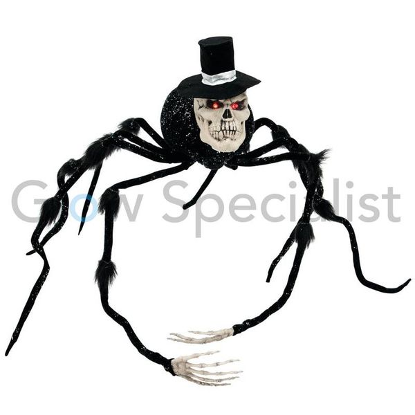 HALLOWEEN SPIDER GROOM