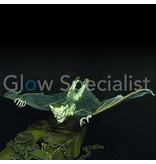 HALLOWEEN UV GNOME WITH BAT WINGS