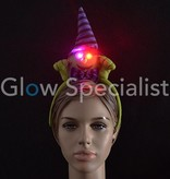 HALLOWEEN HEAD BOPPER WITCH WITH LED EYES