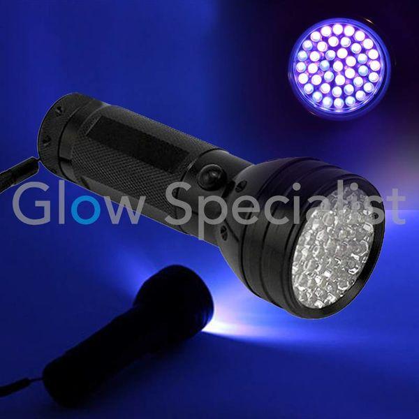 UV FLASHLIGHT 51 LED - 395NM
