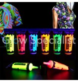 - PaintGlow GLOW UV FABRIC PAINT  - SET OF 6