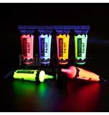 - PaintGlow GLOW UV TEXTILE PAINT PAINT - SET OF 6