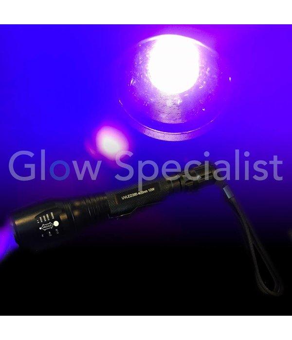 UV LED FLASHLIGHT 395-405nm - 10W