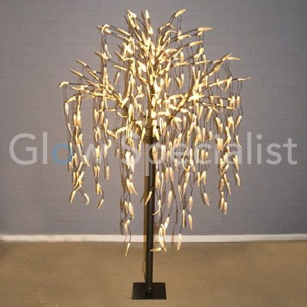 LED WILLOW TREE - WARM WHITE - 400 LEDS - 180 CM
