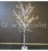 LED TREE BRANCHES WITH SNOW - WARM WHITE - 120 LED - 180 CM