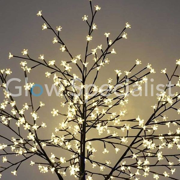LED CHERRY BLOSSOM TREE - WARM WHITE - 350 LEDS - 210 CM
