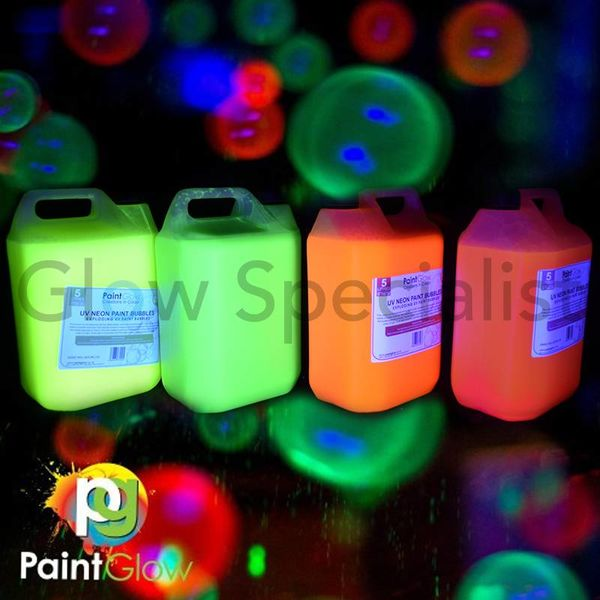 BLACKLIGHT BUBBLE LIQUID - 5 LITERS