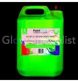 - PaintGlow GLOW BODY PAINT PAINT SPLASH - 5 liters - 4 COLOURS