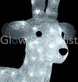 LED REINDEER 100 CM - 280 LIGHTS - COOL WHITE