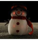 LED FLASHING SNOWMAN