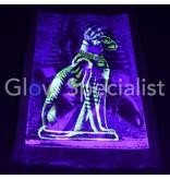 GLOW IN THE DARK PAPYRUS - TOETANCHAMON / EGYPTISCHE KAT