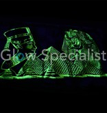 Glow in the dark Papyrus - Tutankhamun and Cleopatra