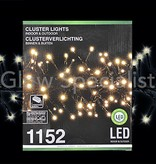 LED CLUSTERVERLICHTING - 1152 LAMPJES - WARM WIT